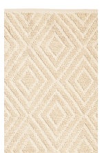 Wool-blend rug - Natural white -  | H&M CN 2
